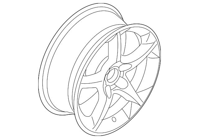 2008 saturn astra wheel alloy 13171952 xportauto White 2008 Saturn Astra wheel alloy gm 13171952