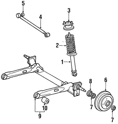 Rear Right Brake Hose For 1983-1986 Toyota Tercel 1984 1985 Centric 150.44307