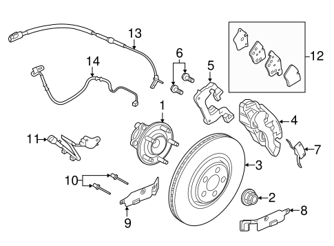 Front Brakes For 2018 Jaguar F Type