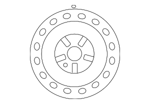 Wheel, Steel - Toyota (42611-06B10)