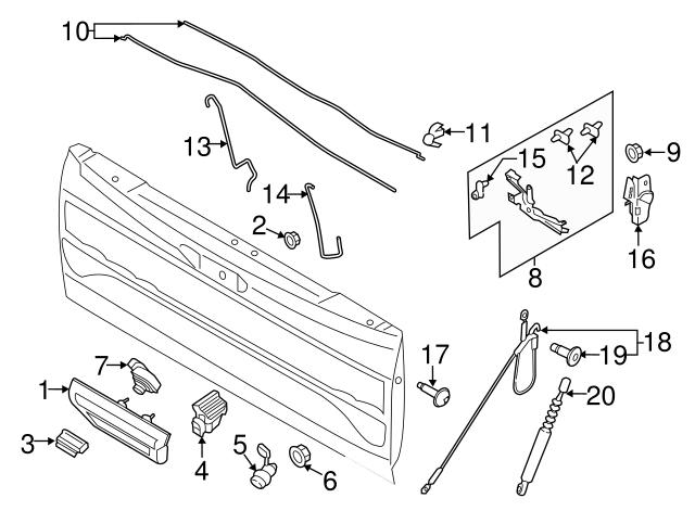 Link Rod Retainer Clip