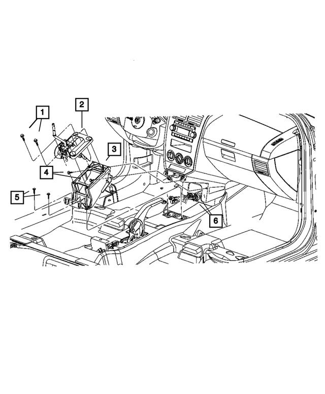 Genuine Chrysler 5062120AF Transmission Gearshift Control Cable