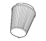 Air Filter - Ford (AR3Z-9601-A)