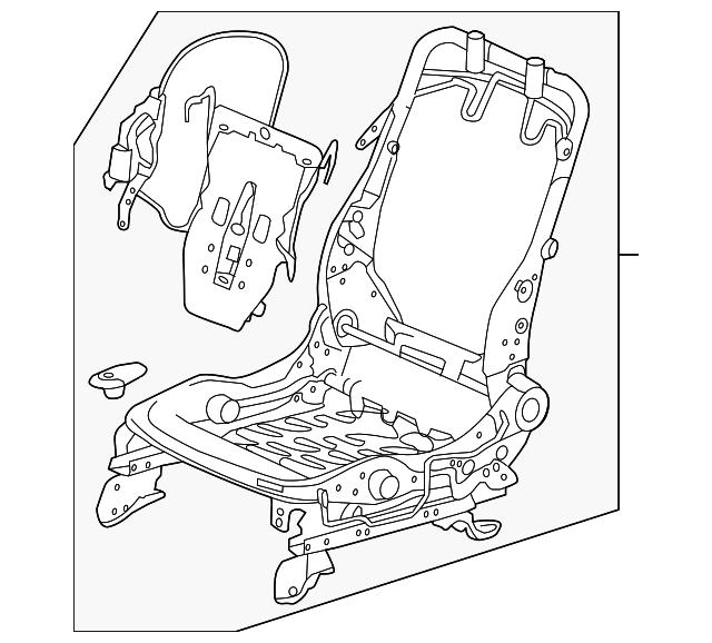 Frame L Front Seat