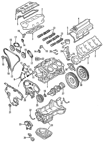 2002 nissan maxima motor diagram timing chain    nissan     13028 zs70a   timing chain    nissan     13028 zs70a