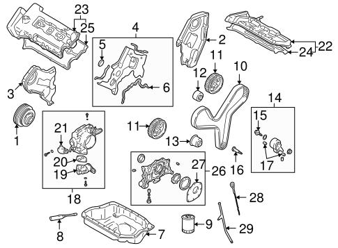 Engine Parts For 2002 Mazda 626 Realmazdaparts Com