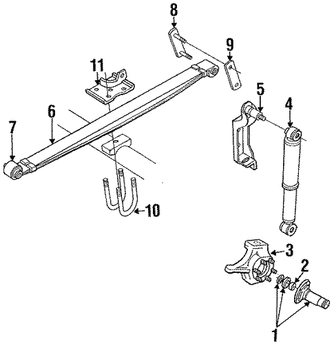 Suspension Components For 1992 Dodge D250