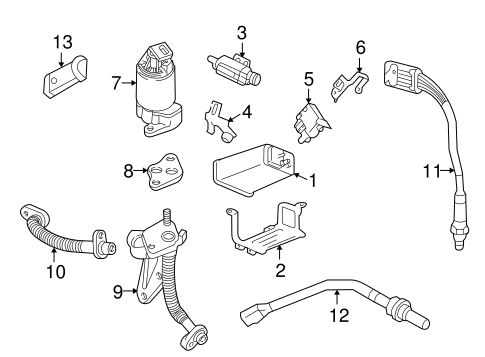 oem emission components for 2004 buick park avenue