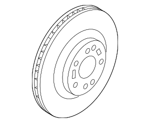 Disc Brake Rotor - Hyundai (51712-B8000)