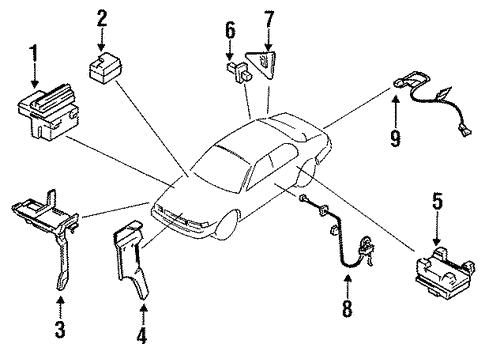 Anti Lock Brakes For 1995 Infiniti J30