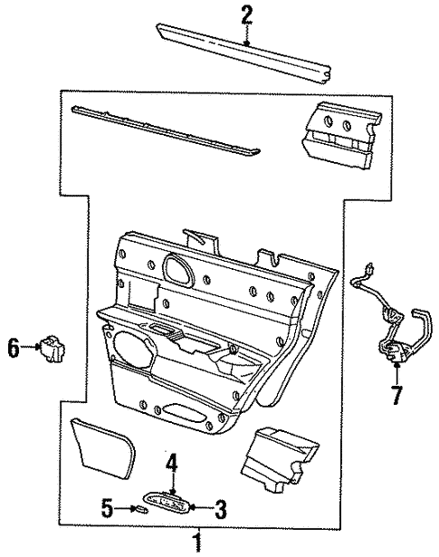 Oem 2002 Lincoln Continental Interior Trim