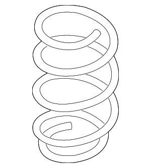 Coil Spring - Nissan (54010-6MA2A)