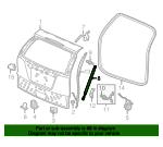 Open Stay Assembly R, T/ - Honda (74820-T0G-A21)