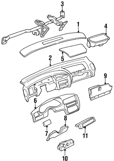 Oem 1995 Buick Regal Controls Parts