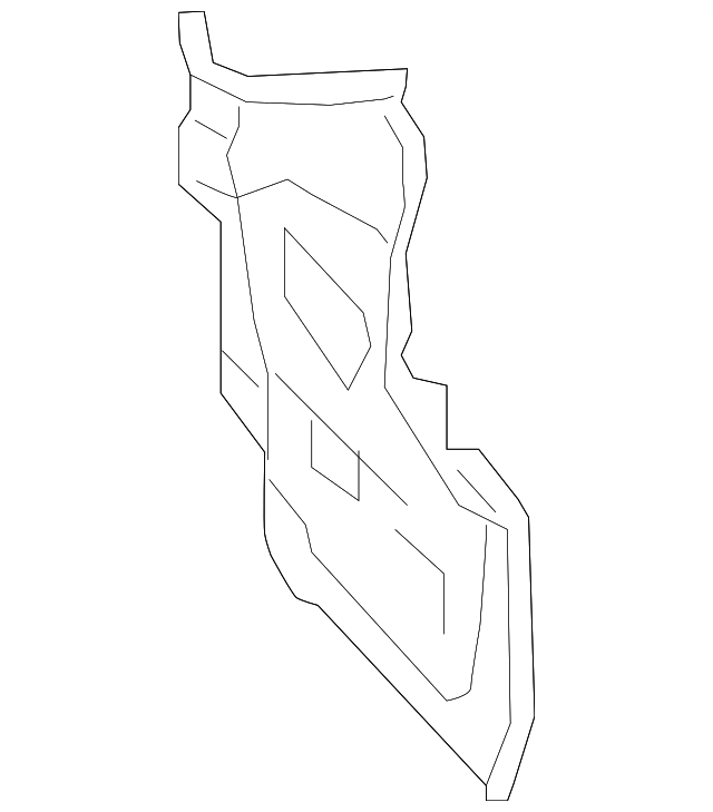 Genuine Subaru Tail Lamp Pocket 51445al06a9p