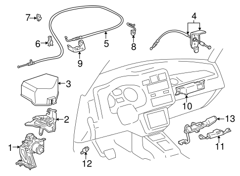 fuel system/fuel system components for 1996 toyota rav4 #2