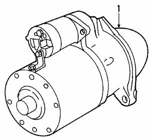 GM OEM-Starter Motor 25194634