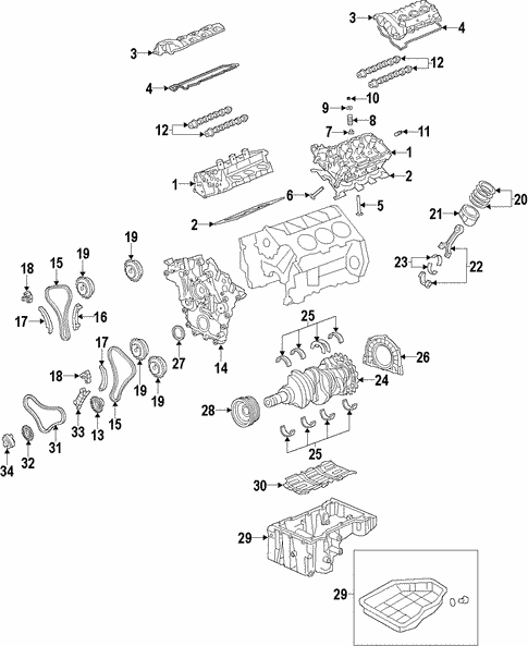 Engine for 2011 Kia Sorento #6