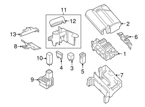 fuse relay for 2014 volkswagen passat. Black Bedroom Furniture Sets. Home Design Ideas