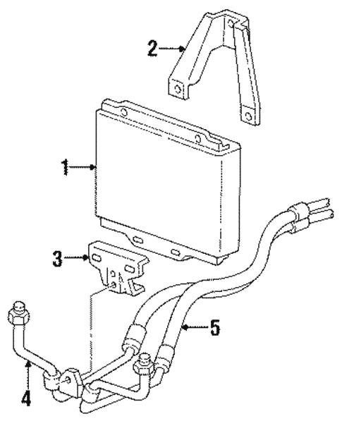 Oem 1990 Chevrolet C1500 Oil Cooler Parts