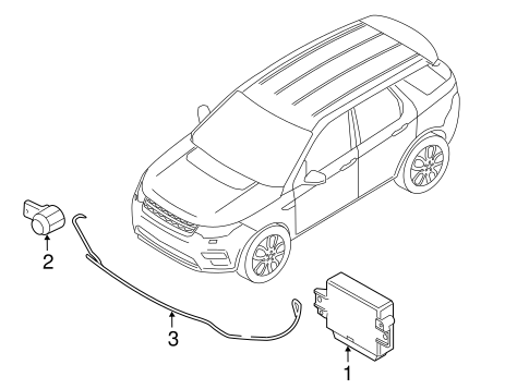 Electrical Components For 2017 Land Rover Discovery Sport