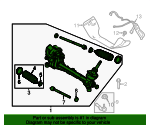 Gear Assembly - Steering - Ford (HV6Z-3504-EQ)