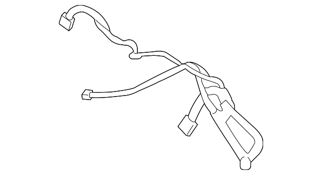 2012 Ford Focus Wire Harness Cv6z