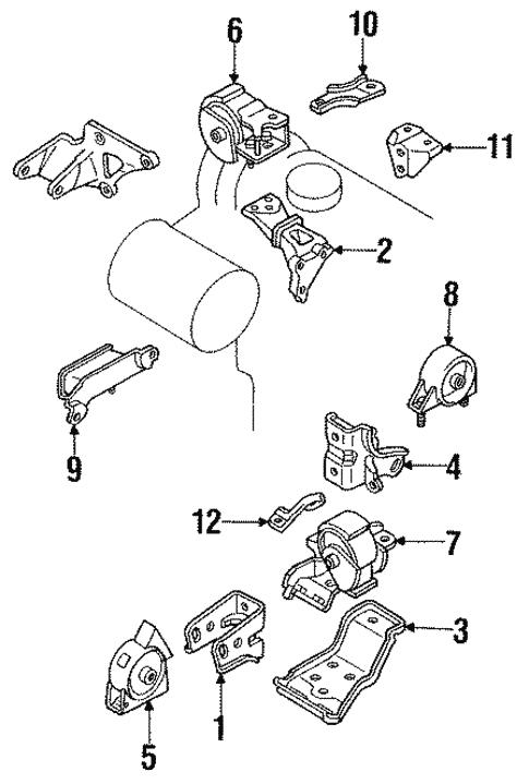 Engine Mounting For 1989 Toyota Corolla Xportauto