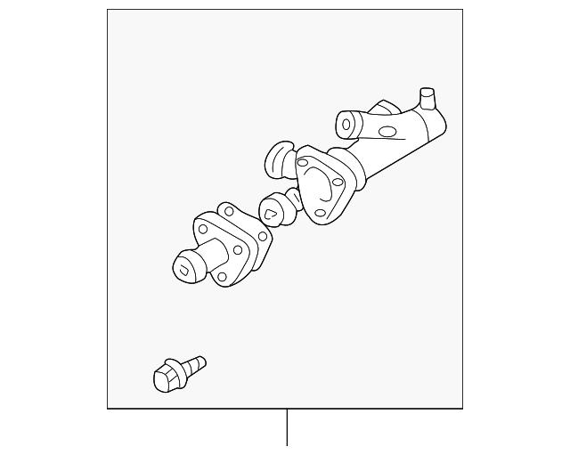 Mazda AJC1-15-17Z Engine Coolant Outlet Flange