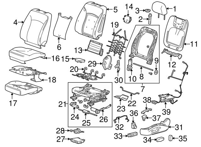 2010 2019 Gm Adjust Motor 13578636