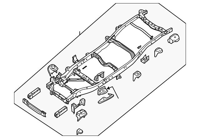 Frame Assembly - Nissan (50100-9CL0A) | Tasca Auto Parts