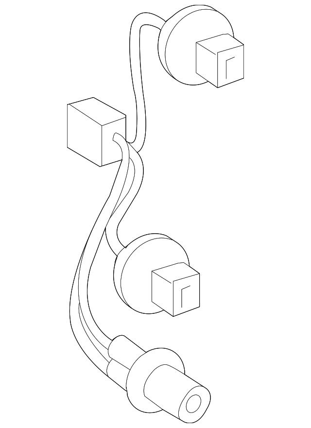 2011 2015 Scion Xb Socket Wire 81555 12b80