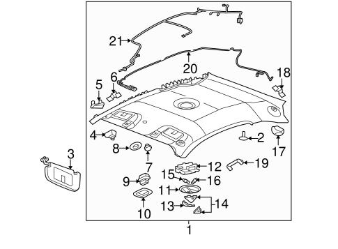 oem 2007 chevrolet cobalt sunroof parts gmpartsonline net 2007 Chevy Silverado Front End Diagram electrical sunroof for 2007 chevrolet cobalt 1