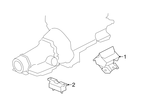 Engine Trans Mounting For 2017 Gmc Sierra 3500 Hd