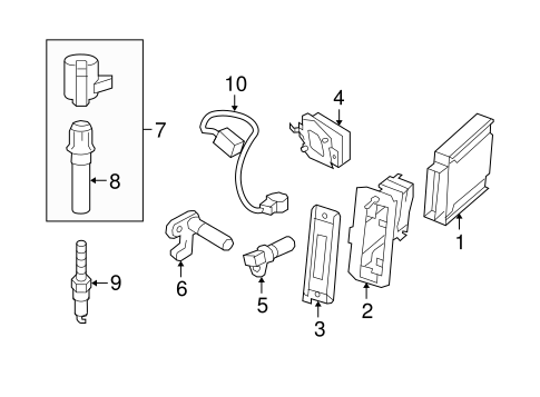 Ignition System For 2006 Lincoln Town Car Tasca Auto Parts. Electricalignition System For 2006 Lincoln Town Car 1. Lincoln. Engine Parts Diagram 2006 Lincoln At Scoala.co