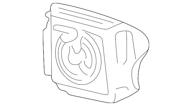 driver air bag - ford (xl2z-78043b13-cac)