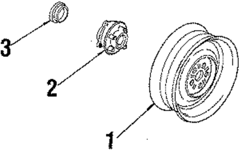 wheels parts for 1984 oldsmobile firenza