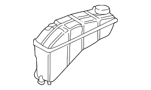 Reservoir - Mercedes-Benz (210-500-05-49)
