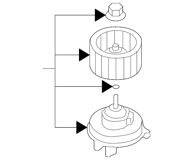 2006 2015 Mazda Mx 5 Miata Blower Assembly Ne51 61 B10