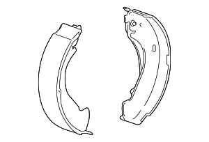 Brake Shoes - GM (19150002)