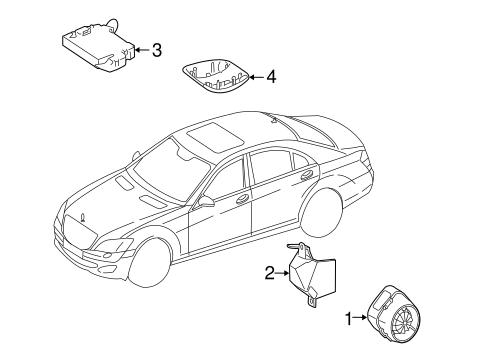 Alarm System For 2011 Mercedes Benz S 400