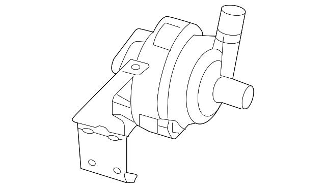 2019 Jeep Cherokee Water Pump 68259097ab