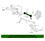 Arm, R Rear Control - Acura (52340-T6Z-A00)