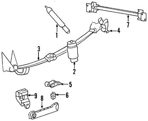 Rear Suspension for    2002       Lincoln       Blackwood      OEM Ford Parts