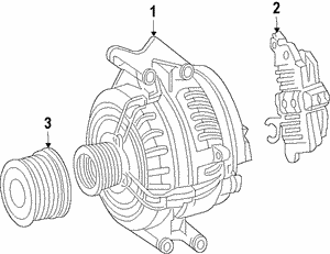 Remanufactured Three-Phase Alternator