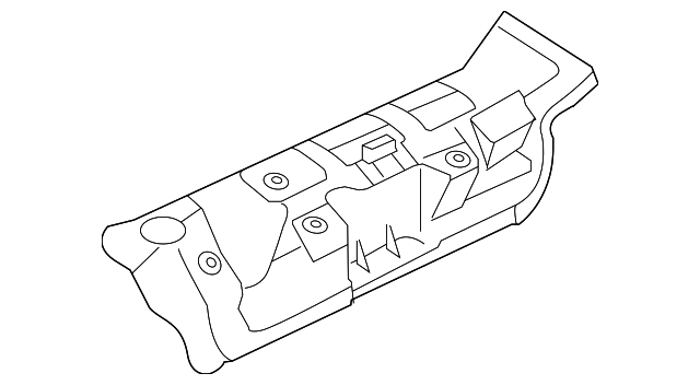 Ford F 250350450550 Super Duty Exhaust Manifold Heat Shield