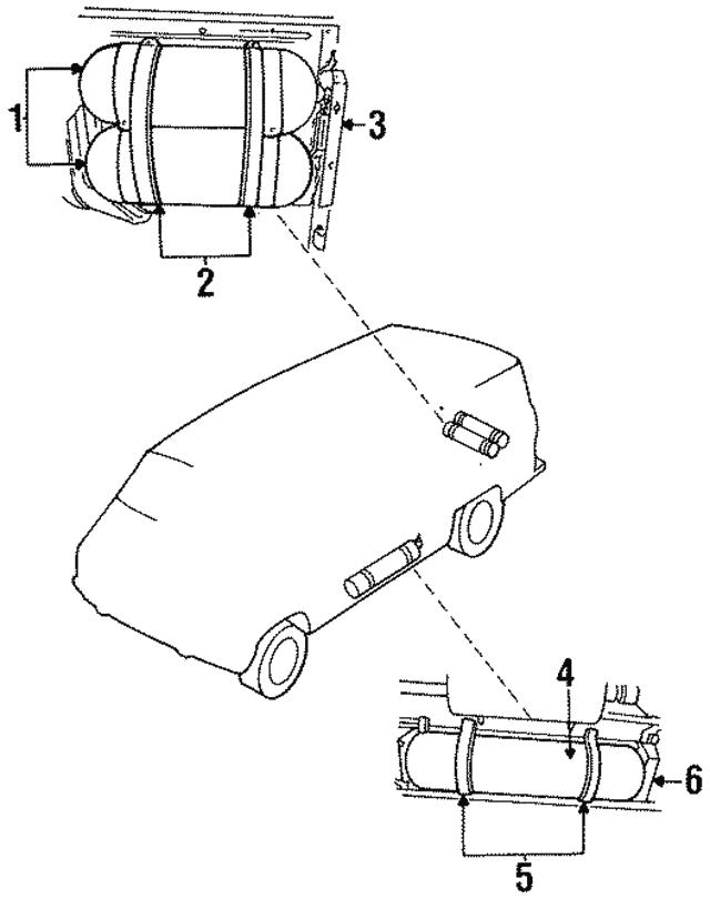 1993 1996 Dodge Tank 52018211