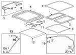 Sunshade - GM (26203928)