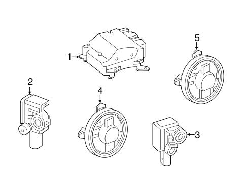 Air Bag Components For 2018 Mercedes Benz C 300