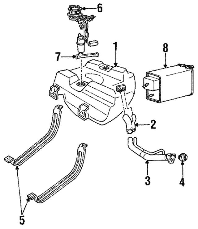 1992 2005 Gm Fuel Strainer 25166285